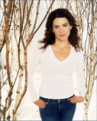"Lauren Graham Yes, the little girl who played Laura on 'Little House On the Praire'. Is now all grown up, she is also the President of the Screen Actors Guild. She has definitly feeled out. Foto 64 (Лорэн Грэхам Да, девочку, которая играла Лаура на ""домик на Прэр"".  Фото 64)"